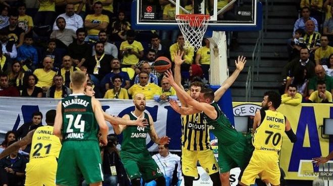 fenerbahce - Fenerbahçe Doğuş - Zalgiris (Maç özeti)