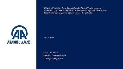 FETÖ/PDY operasyonu - KONYA