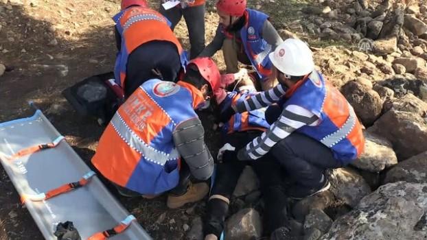 deprem ani - UMKE'den gerçeğini aratmayan tatbikat - KİLİS