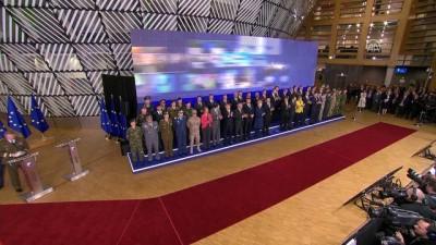 Yapılandırılmış Daimi İşbirliği (PESCO) başlatıldı - BRÜKSEL