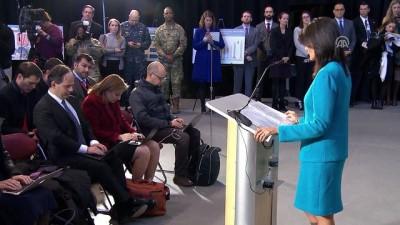 ABD'nin BM Daimi Temsilcisinden İran açıklaması - WASHINGTON