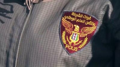 Fırat Kalkanı bölgesinde polislerin mezuniyet heyecanı - HALEP/KİLİS
