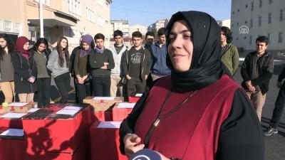 Öğrenciler El-Bab'taki Mehmetçik için mutfağa girdi (1) - ERZURUM