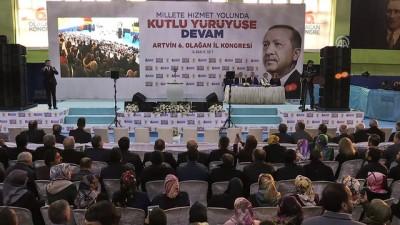 AK Parti 6. Olağan İl Kongresi - Ulaştırma, Denizcilik ve Haberleşme Bakanı Arslan - ARTVİN