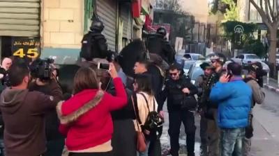 ses bombasi - İsrail polisinden gösteri düzenleyen Filistinlilere müdahale - KUDÜS