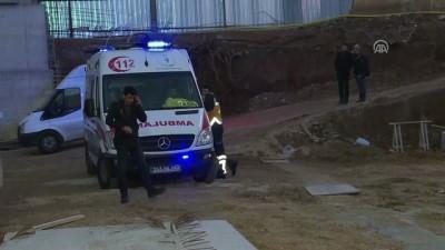 İzmir'de inşaatta kaza: 1 ölü, 1 yaralı (3)