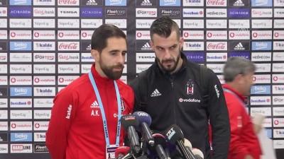 Beşiktaş-Osmanlıspor maçının ardından - Alvaro Negredo - İSTANBUL