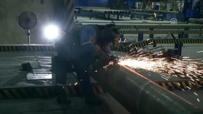 İHRACATIN PARLAYANLARI - Doğu Akdeniz'den 40 ülkeye çelik boru - HATAY