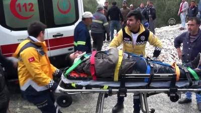 İşçi servisi şarampole devrildi: 9 yaralı (2) - MUĞLA
