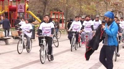 'Uyuşturucuya hayır' demek için pedal çevirdiler - İSTANBUL