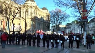 Avusturya'da aşırı sağcı yeni hükümet karşıtı gösteri - VİYANA