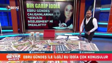 Ebru Gündeş ile ilgili bu iddia çok konuşulur