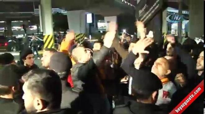igor tudor - Galatasaray taraftarından havaalanı ve Florya'da protesto