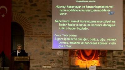 Osmangazi'de kanser paneli