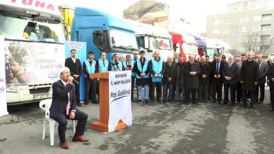 Suriyelilere 11 tır un yardımı - KAYSERİ
