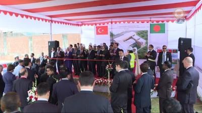 - Başbakan Yıldırım, Dakka Büyükelçiliği temel atma törenine katıldı