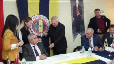 Fenerbahçe Başkanı Aziz Yıldırım Çorlu'da