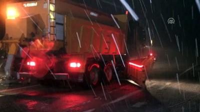 soguk hava dalgasi - Trakya'nın yüksek kesimlerinde kar yağışı başladı