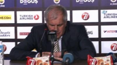 """Zeljko Obradovic: """"Savunmamızla kazandık"""""""