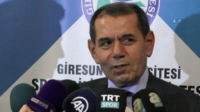 Dursun Özbek'ten yeni teknik direktör açıklaması