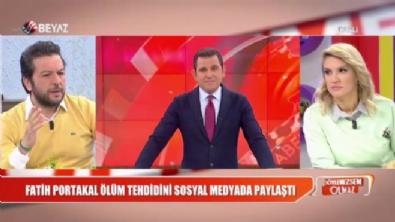 fatih portakal - Fatih Portakal'a ölüm tehdidi!