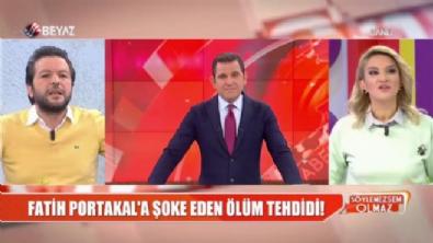 fatih portakal - Fatih Portakal 'Korksun' dedi, Nihat Doğan küplere bindi