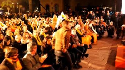 - Katalonya'da Seçim Kampanyaları Sona Erdi