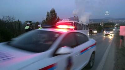 Öğrenci servisi otomobille çarpıştı: 8 yaralı - MUĞLA