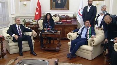 Bakan Demircan'dan Kırmızı Işık Projesi açıklaması: '10-15 hastaneye ulaştık'