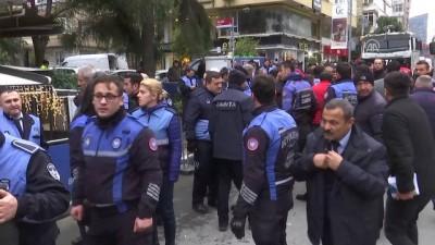 Etiler'de kaldırım gerginliği - İSTANBUL