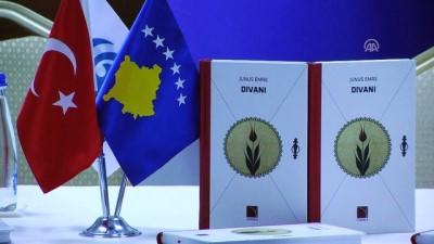 Kosova'da Arnavutçaya çevrilen Yunus Emre Divanı tanıtıldı - PRİŞTİNE