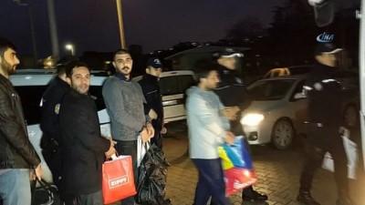 Samsun'da organize suç örgütü şüphelisi 23 kişi adliyeye sevk edildi