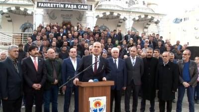 Sözlü'den BAE Dışişleri Bakanı Zayid'e Fahrettin Paşa Camii'nden tepki