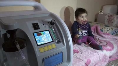 'Tek hayalim çocuğumun nefes alabildiğini görebilmek' - MERSİN