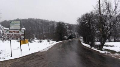 soguk hava dalgasi - Yüksek kesimlerde kar yağışı etkili oluyor - KIRKLARELİ