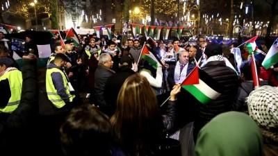 ABD'nin Kudüs'ü İsrail'in başkenti olarak tanıma kararı protesto edildi - BRÜKSEL