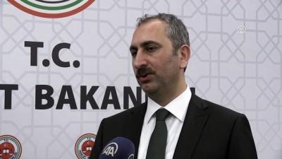 Adalet Bakanı Gül: 'İnsanlık, hukuk, küresel adalet ve barış adına sevindirici bir gelişme' - ANKARA