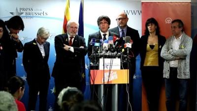 Eski Katalan lider Puigdemont'dan seçim açıklaması - BRÜKSEL
