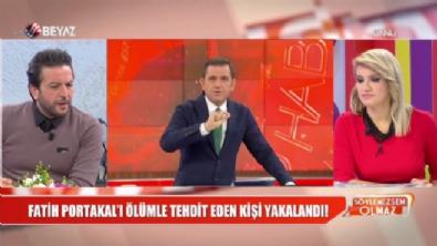 fatih portakal - Fatih Portakal'ı ölümle tehdit eden kişi yakalandıktan sonra serbest bırakıldı!