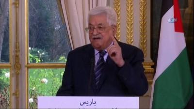"""- Filistin Devlet Başkanı Abbas: """"ABD, Kendisini Orta Doğu Barış Sürecinden Diskalifiye Etti"""""""