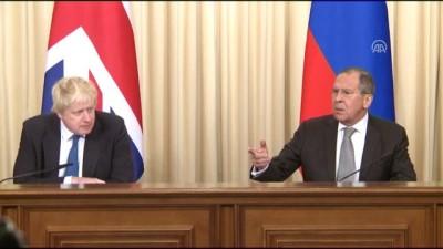 İngiltere Dışişleri Bakanı Johnson Rusya'da - MOSKOVA