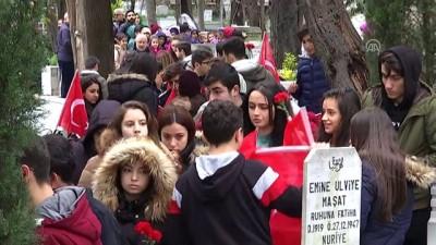 Medine Müdafii Fahreddin Paşa mezarı başında anıldı - İSTANBUL