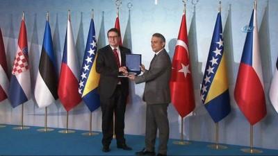 Türkiye'nin Avrupa'da yeniden tesis ettiği ilişkilerin 25. yılı resepsiyonu