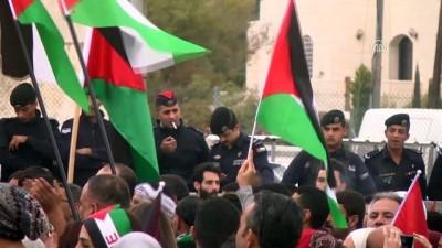 Ürdün'de ABD'nin Kudüs kararına 'Dabke'li protesto - AMMAN