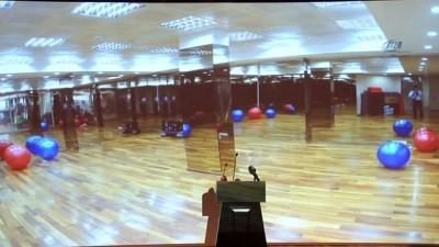 Üsküdar'daki Diyabet ve Obezite Spor Merkezi'nin açılışını Semiha Yıldırım gerçekleştirdi
