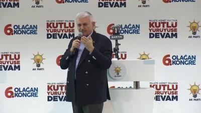 Başbakan Yıldırım: 'Nerede Mazlum, nerede mağdur varsa Türkiye her zaman onların yanındadır' - BARTIN