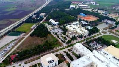 Merkezi derslik için geri sayım başladı...Çalışmalar havadan görüntülendi