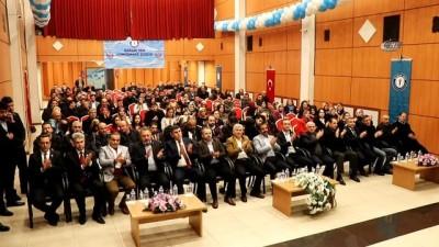 Sağlık-Sen Genel Başkanı Metin Memiş kongreye katıldı