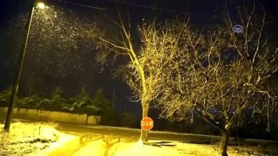 soguk hava dalgasi - Tekirdağ'da kar yağışı etkisini sürdürüyor