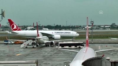 THY'nin yeni kargo uçağı Atatürk Havalimanı'na ulaştı - İSTANBUL